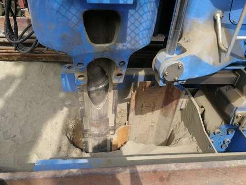 Pilote de pieux à pression statique d'équipement d'ingénierie à haute efficacité