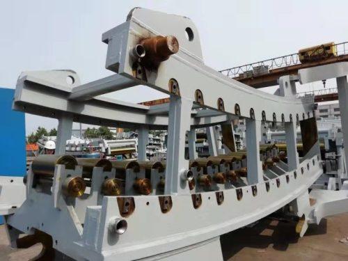 Équipement de four à charbon à coke direct d'usine transportant des pièces d'équipement