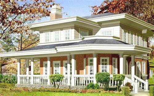 Résistance aux tremblements de terre personnalisée bonne villa de structure métallique préfabriquée, laissez-vous vivre une villa de rêve!