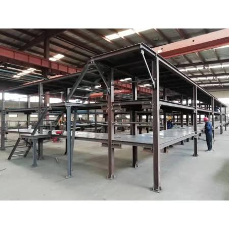 Safe and stable shelf of welding steel storage rack