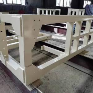 高品質の溶接加工設備鉄骨造フライオーバーの施工
