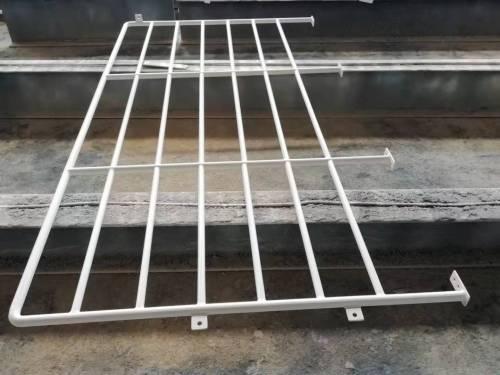 Garde-corps de plate-forme de structure en acier sûr et stable, mains courantes
