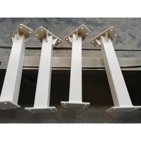 Fourniture professionnelle de colonne de soudure en acier de construction de haute qualité, connecteurs de structure en acier