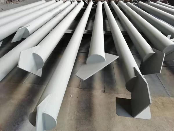 鉄骨構造建設溶接コラム、梁サポート固定部品の専門生産