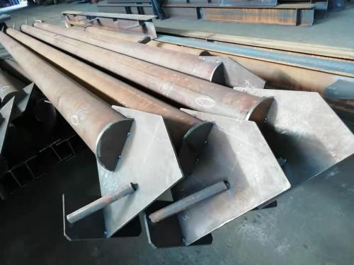 Production professionnelle de colonne de soudage de construction de structure métallique, pièces fixes de support de poutre