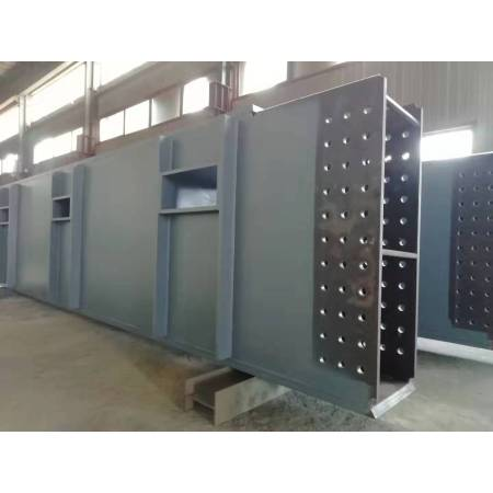 Factory manufacturer custom durable box beam steel structure