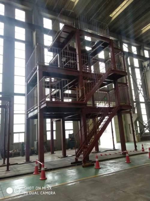 Portique d'équipement japonais d'ingénierie de structure métallique disponible dans plusieurs industries