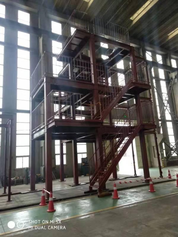 複数の業界で利用可能な鉄骨構造エンジニアリング日本の機器ガントリー