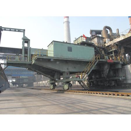 Large energy-saving and high-efficiency coke oven equipment dust catcher car