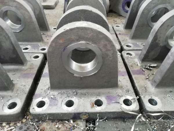 Machining to make a strong and excellent cast steel flange base