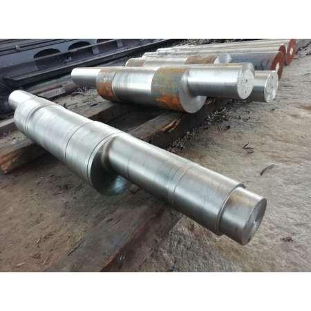 Production d'usinage d'arbre excentrique de pièces mécaniques de pulvérisateur