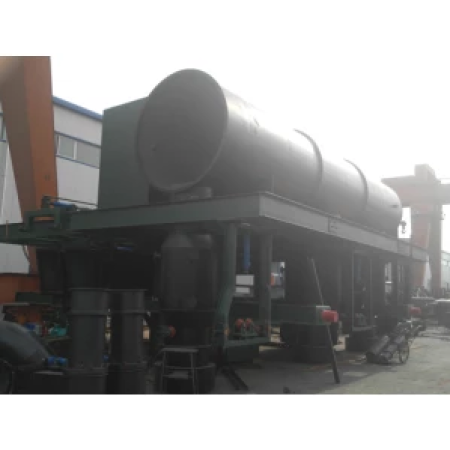 Large power, high efficiency coke oven top smoke guide car