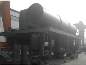 Large power, high efficiency coke oven top smoke guide car