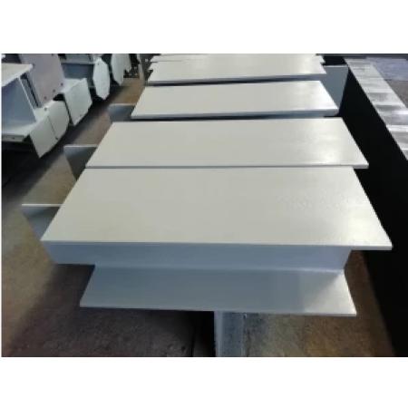 Acier à section soudée utilisé pour les éléments de support en acier soudé de poutres, poteaux et autres structures