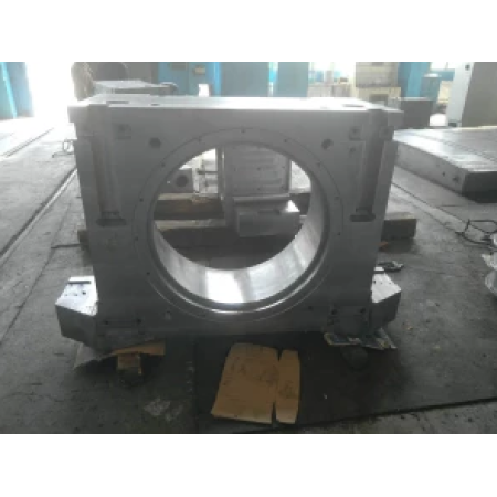Factory-made precision machined large durable cast steel bearing