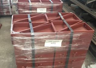 小さな牽引装置用の高耐荷重鋼枕木