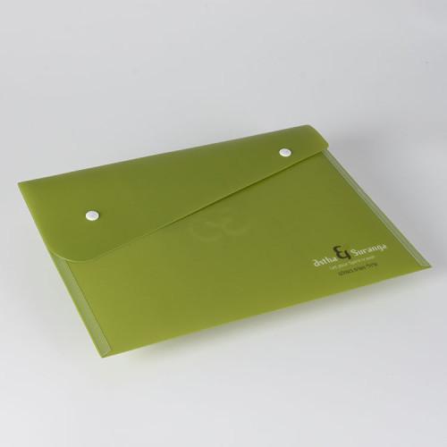 学校の学生のためのスナップボタンの閉鎖が付いているA4プラスチック封筒フォルダー