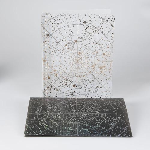 Sternenhimmel Datei PP Kunststoff Datei Ordner mit Ringbinder