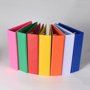 حامل ملف طباعة مخصص متعدد الألوان ذو 3 حلقات