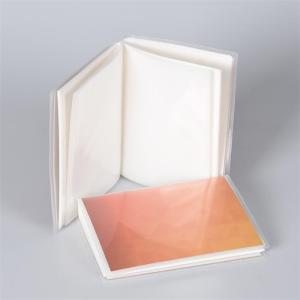 غطاء ملون مخصص 24 صفائح واضحة 48 صفحات داخلية 48 جيوب PP ألبوم صور بلاستيك في المخزون