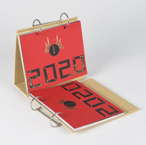 Custom Design Printing Stand 2020 Table Calendar