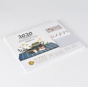 Customzized 2020 Table Calendar with Memo Pad