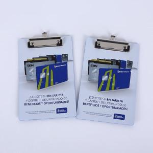 Wholesale Custom Mini Size Plastic Clipboards