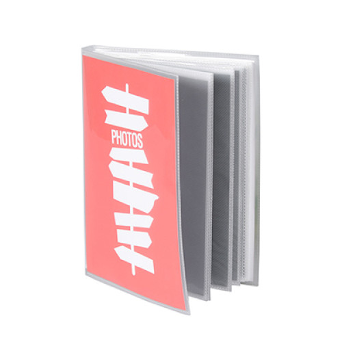 Custom Cover 24 Clear Sheets 48 Inner Pages 48 Pockets PP Plastic Photo Album 6*8 inches Photo