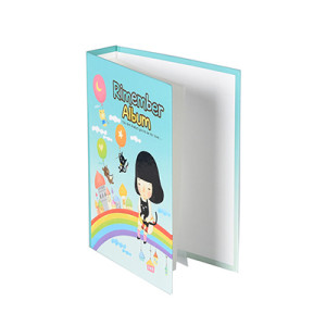 Printed Hardcover Clear Inner Pockets Photo Album