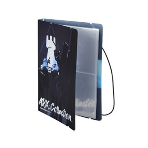 Printed PP Cover Plastic Photo Album with Elastic Rope