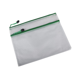 Double Pockets Mesh Waterproof Office File Bag