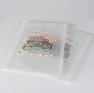 Customized Plastic Envelope with String Closure