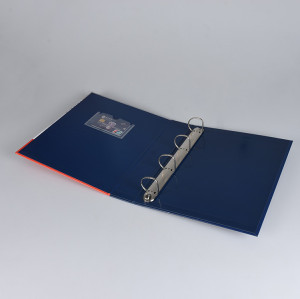 Paper Hardcover File Holder 4-Ring Binder