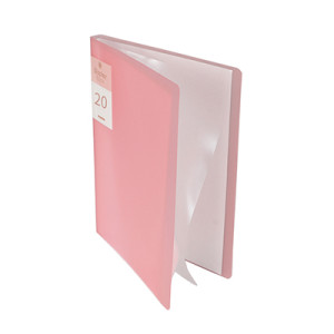 20 Pockets Clear Sleeves Protectors Display Book