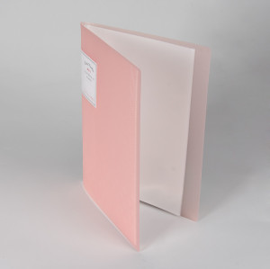 A3 20 Pockets Clear Sleeves Protectors Display Book