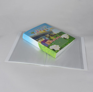 Custom Print Clear Inner Pockets Display Book
