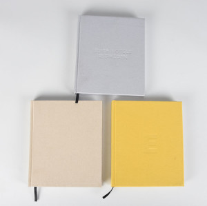 Journal Diary Notebook with Hard Cloth Cover