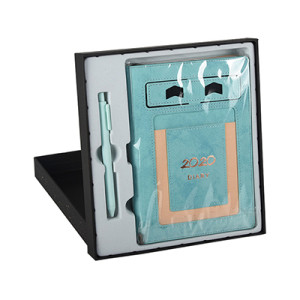 2020 A5 PU Leather Dairy Notebook Gift Set