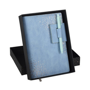 2020 PU Leather Detachable Cover Dairy Gift Set