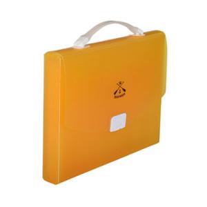 Simple Orange File Case with Handles
