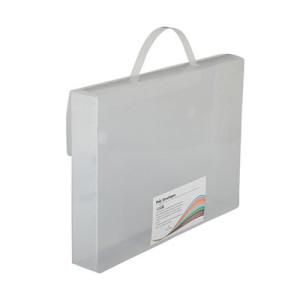 Transparent Letter Size Document Case with Handles