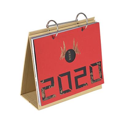 Custom Design Printing Stand 2020 Table Calendar