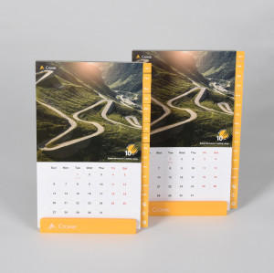 Custom Design Demountable Desktop Calendar