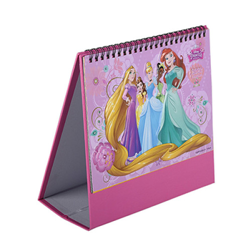 Pink New Year Monthly Desktop Calendarr