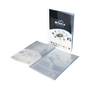 Album Pages Card Collector Coin Holders Wallets Sleeves Set