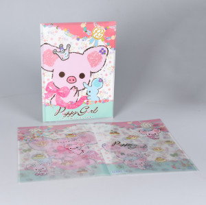 Letter Size 2-Pocket File Poly Folder