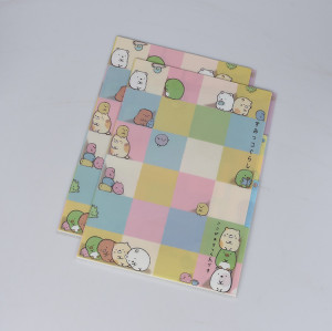 Customzied Print 3 Layers L-shape File Folder