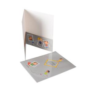 Letter Size 2-Pocket Paper File Folder