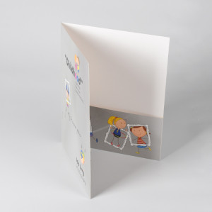 Letter Size 2-Pocket Paper File Folder