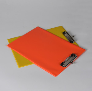 Standard Size PVC Clipboard with Low Profile Clip